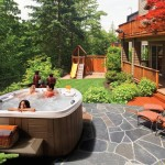 Above Ground Pool Hot Tub Combo