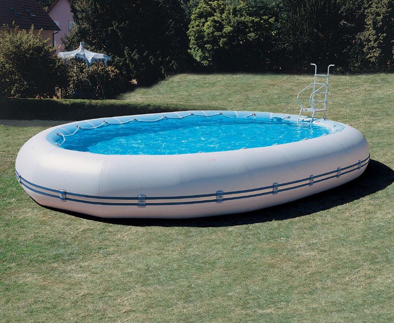 Above ground portable swimming pools backyard design ideas for Piscine portable