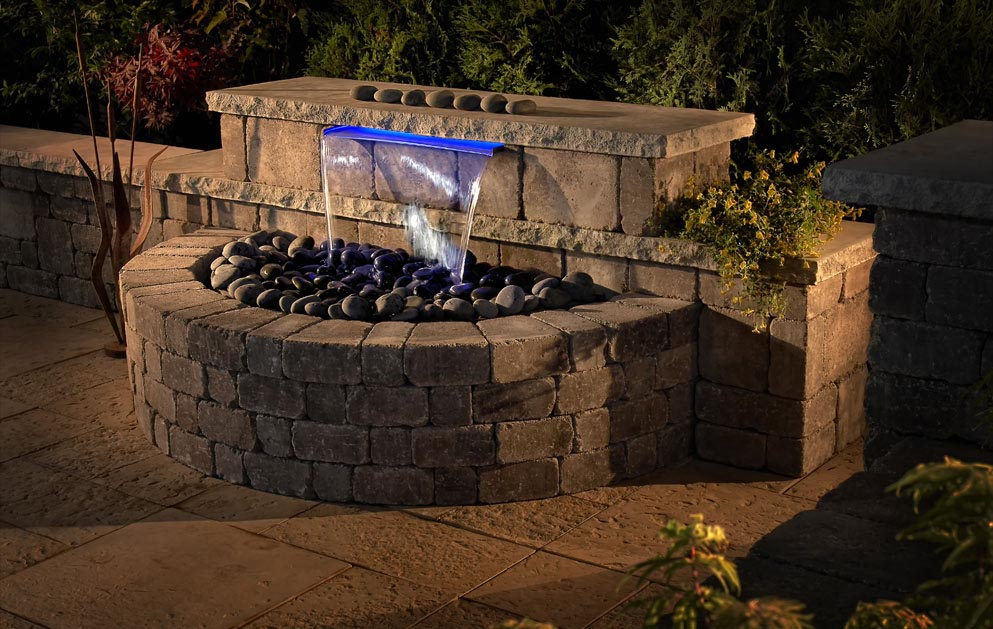 Backyard water feature kits backyard design ideas for Backyard water feature plans