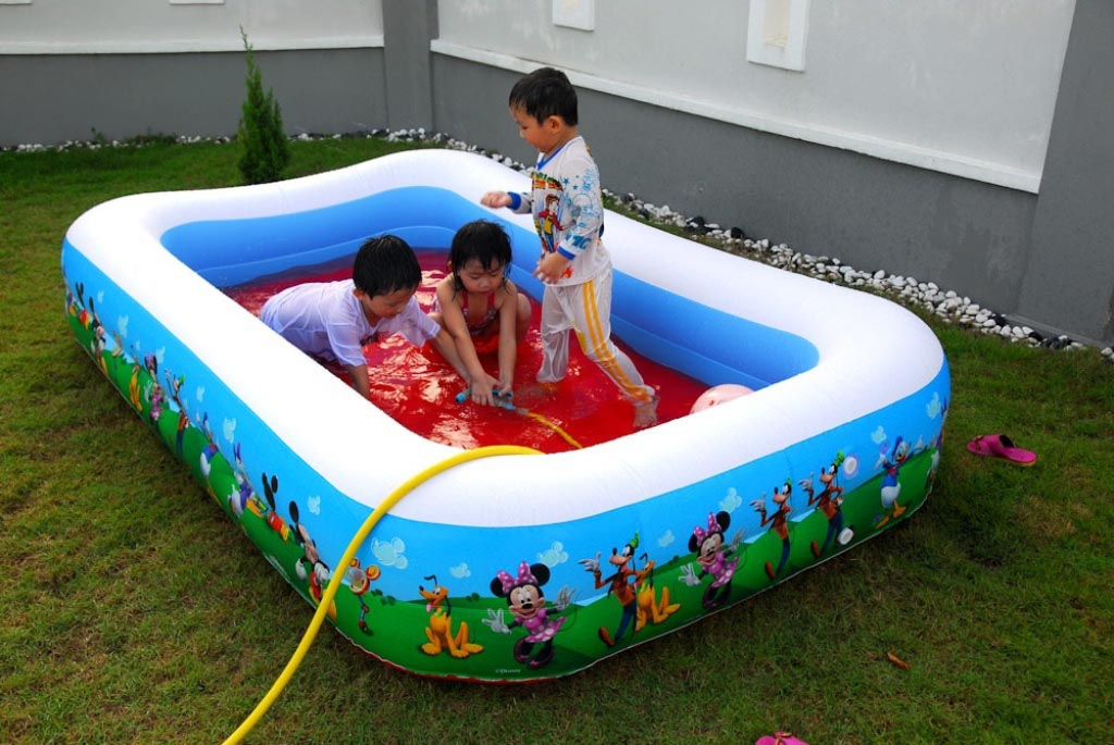 Best pool for kids backyard design ideas for Best children s paddling pool