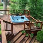 Deck Design Hot Tub