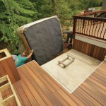 Deck for Hot Tub