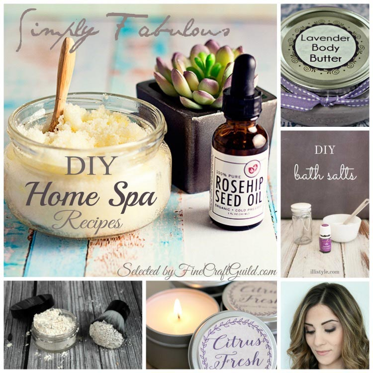 DIY at Home Spa