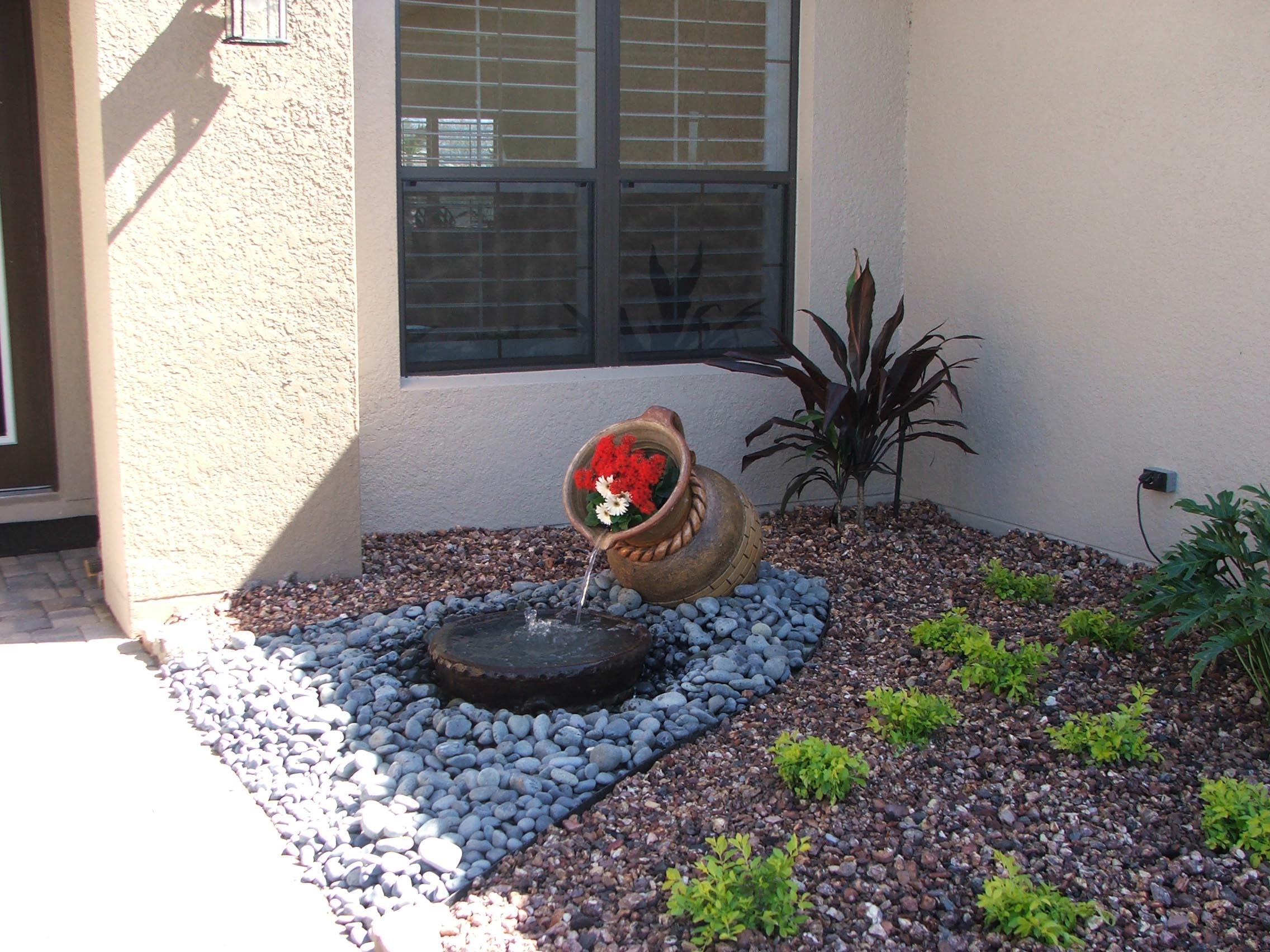 DIY Garden Water Feature
