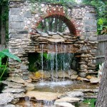 DIY Outdoor Water Feature