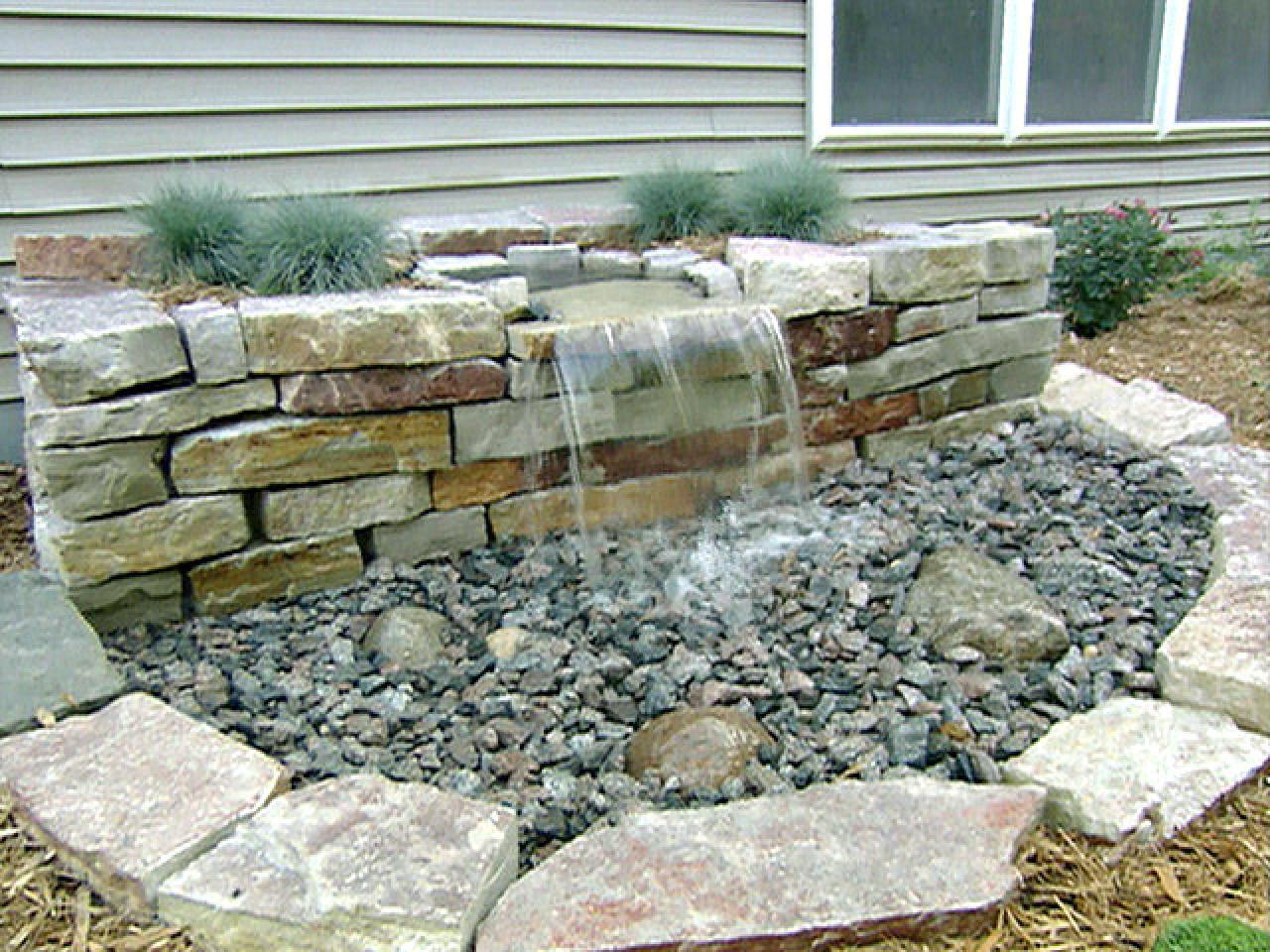 Diy Pondless Water Feature Backyard Design Ideas