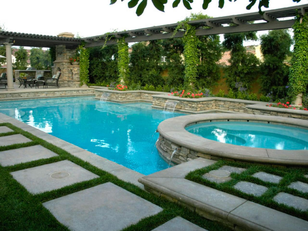 Diy water feature about everything backyard design ideas for Diy backyard pool landscaping