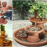 DIY Pot Water Feature