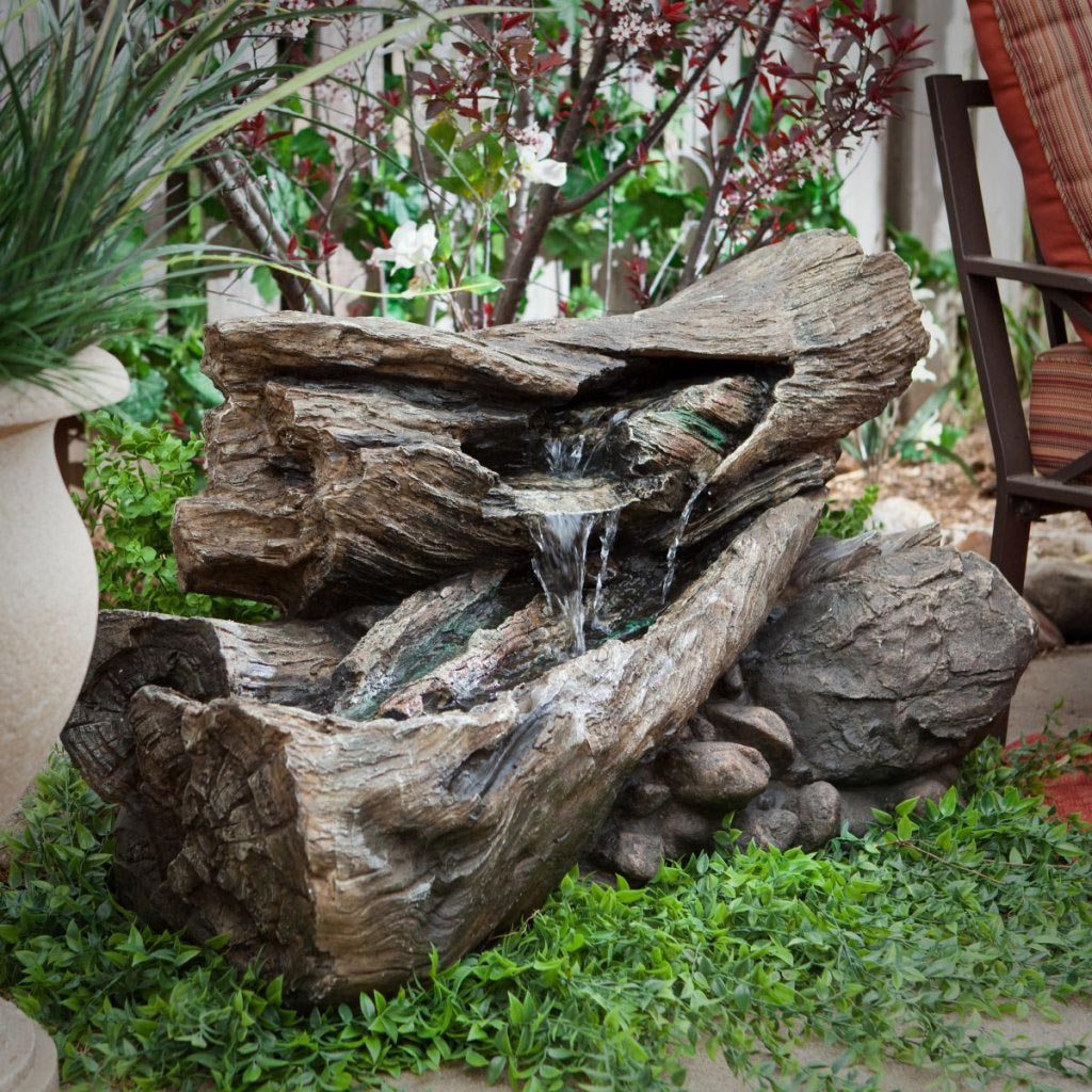 Diy solar water feature backyard design ideas Home made water feature