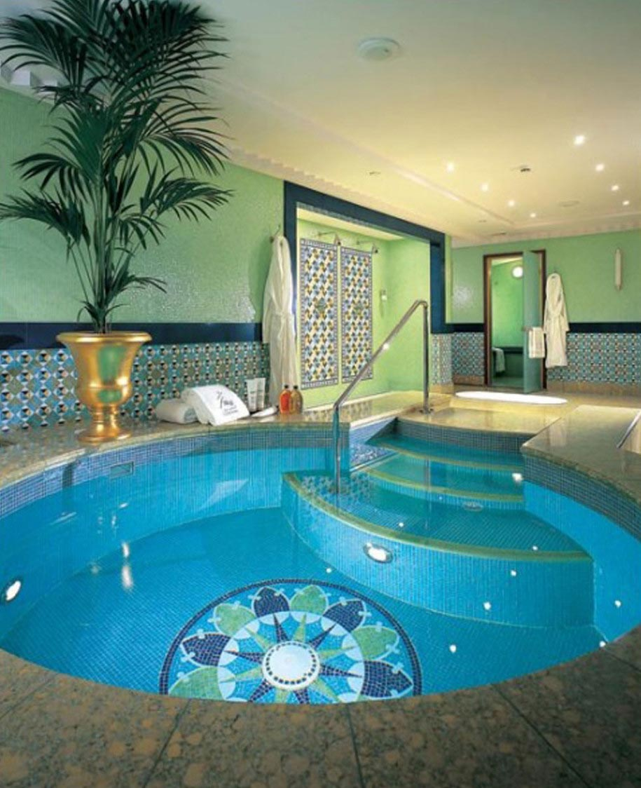 Home indoor swimming pool backyard design ideas for Indoor swimming pool ideas