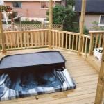Hot Tub Deck Photos
