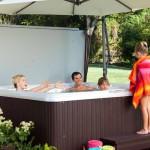 Hot Tub Platform Deck