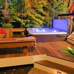 Hot Tub with Deck