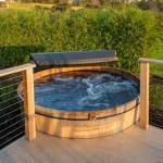 Hot Tub Wood Deck