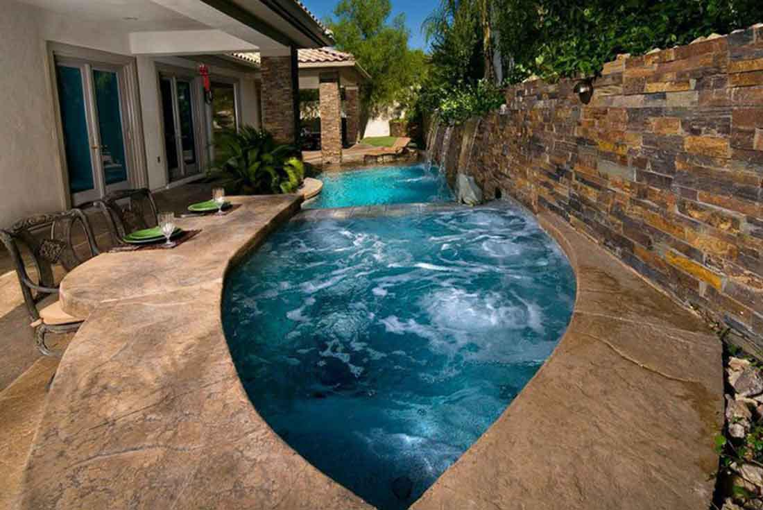 How Much Does A Small Inground Pool Cost | Backyard Design Ideas