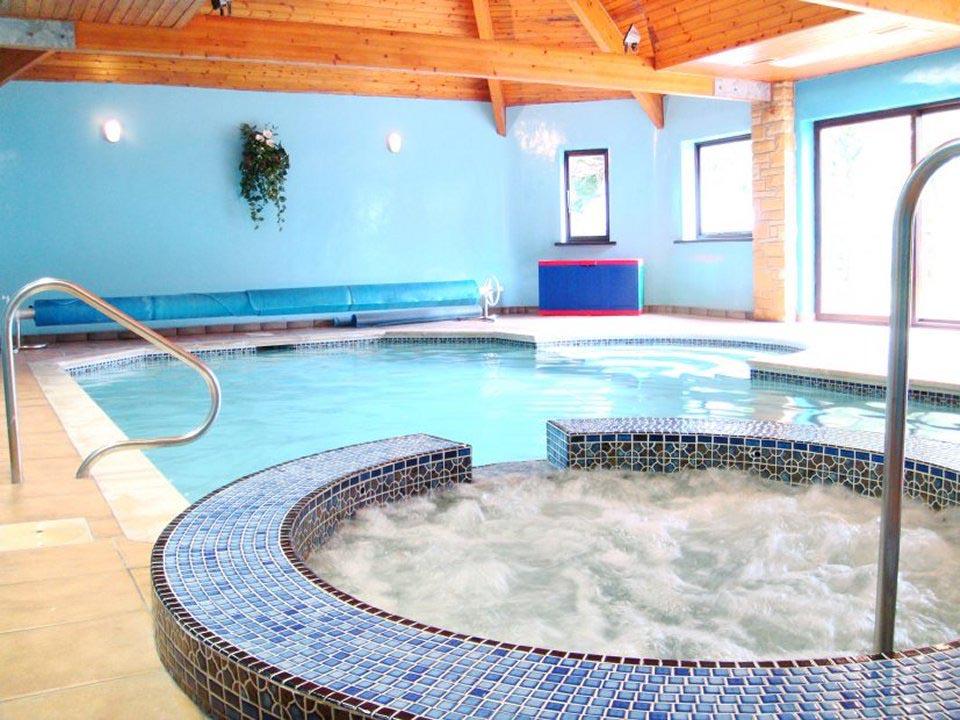 Indoor heated swimming pool backyard design ideas for Interior swimming pool