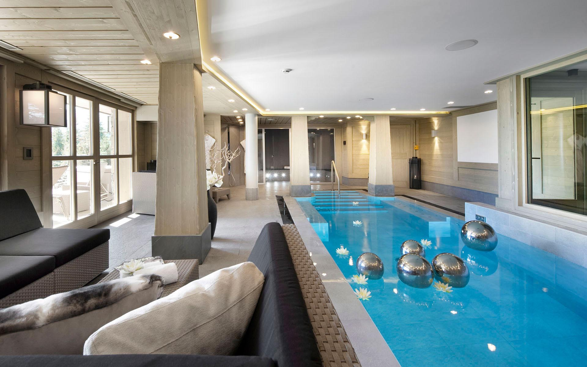 Indoor Luxury Swimming Pools