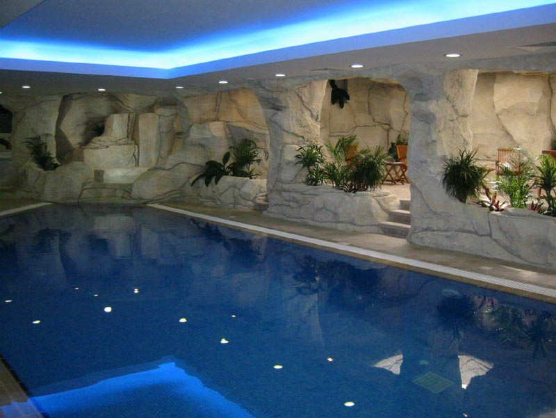 Beau Indoor Swimming Pool Rooms