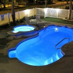Semi Inground Pool Deck Ideas Backyard Design
