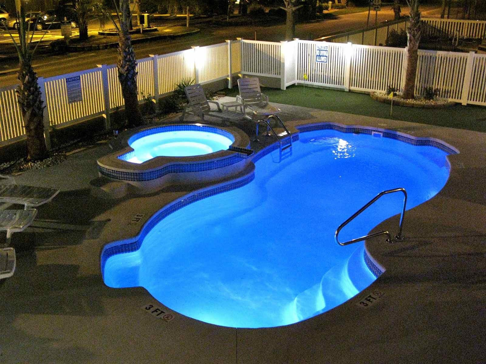 Inground pool deck which to choose backyard design ideas Above ground pool patio ideas