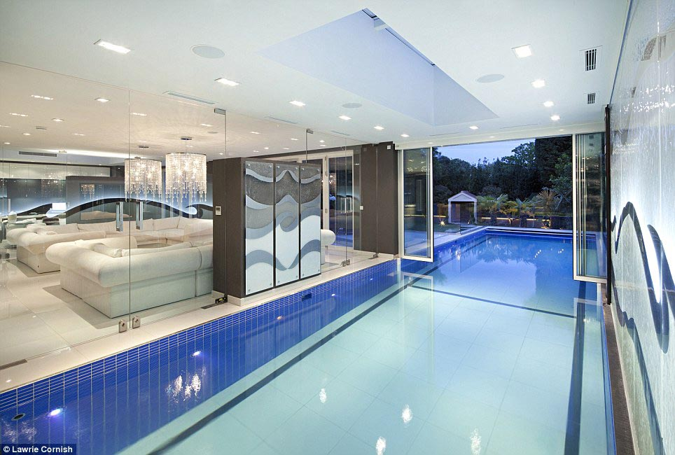 Luxury Homes With Indoor Pools For Sale Backyard Design Ideas
