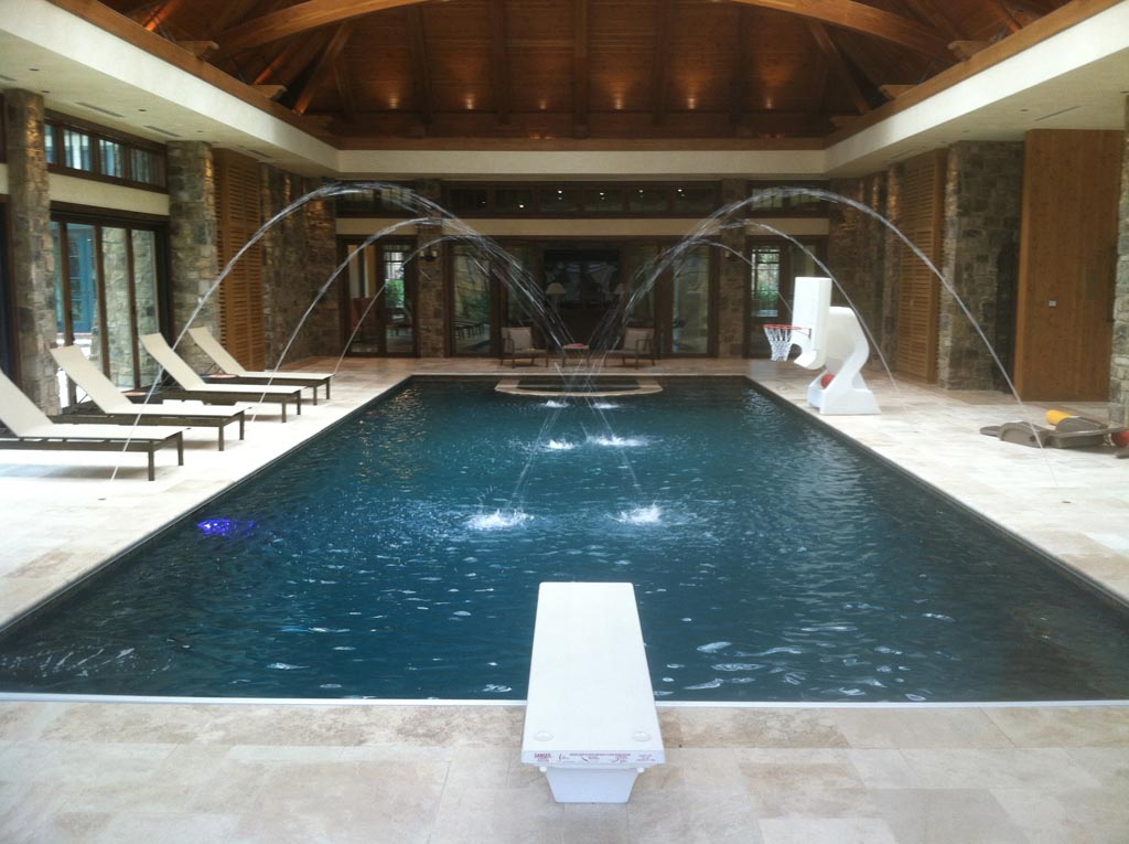 luxury indoor pool house designs - Luxury Homes With Pools