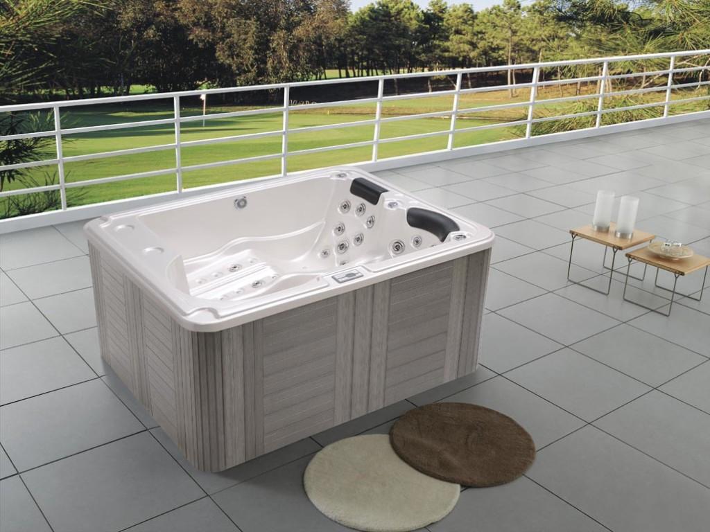 Outdoor Spa Hot Tub