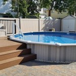 Semi Inground Pool Images