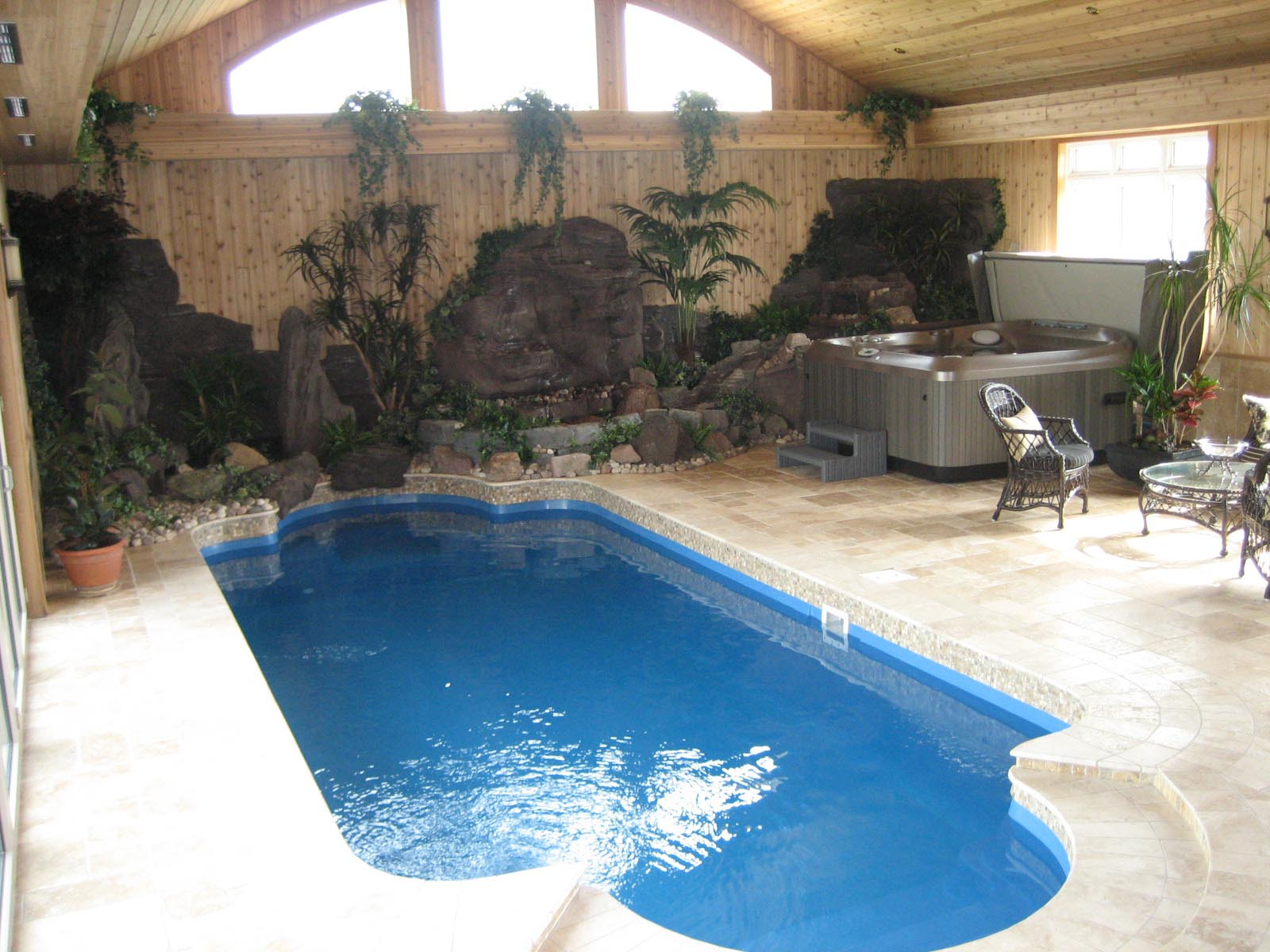 Home Indoor Pool small indoor pools for homes | backyard design ideas