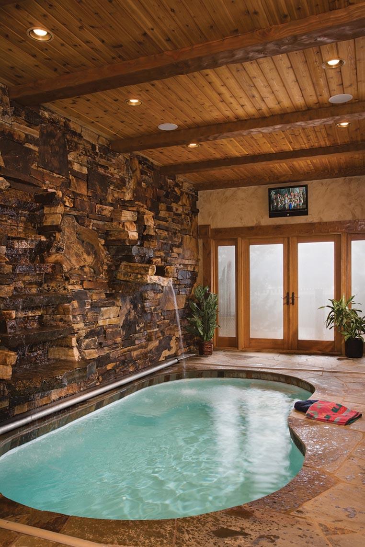 Small Indoor Pool Houses | Backyard Design Ideas