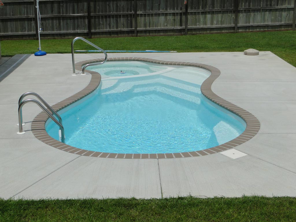 Fiberglass Swimming Pool Designs Glamorous Malibu Medium Fiberglass Inground Viking Swimming