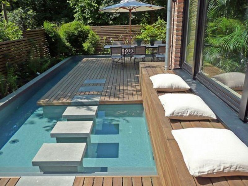 Small Inground Swimming Pool