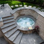 Small Outdoor Hot Tub