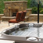 Spa with Outdoor Hot Tub