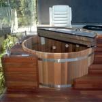 Sunken Hot Tub Deck