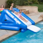 Backyard Inflatable Water Slides Pool
