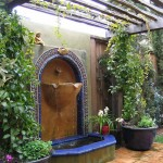 Backyard Water Fountain Designs