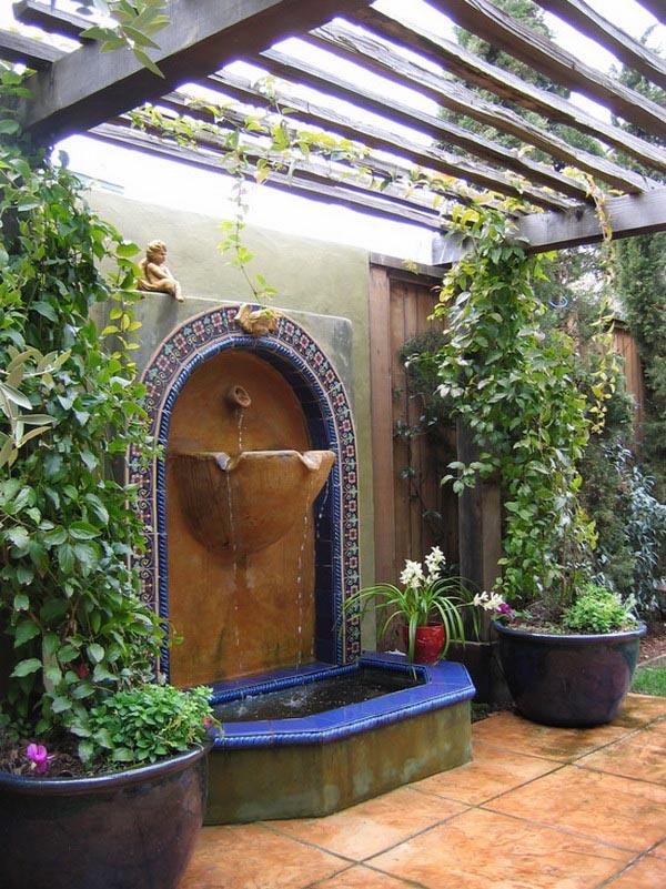 Backyard Water Fountain Designs