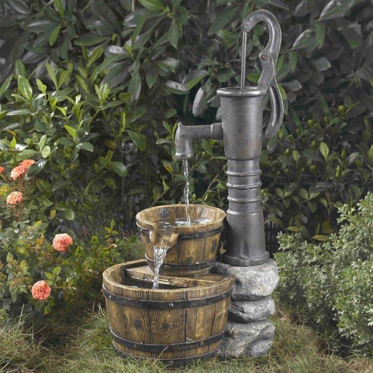 Backyard Water Fountain Kits