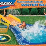 Banzai Cannonball Splash Backyard Pool Water Slide