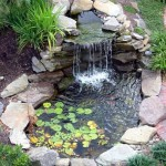 Building a Garden Fountain Pond
