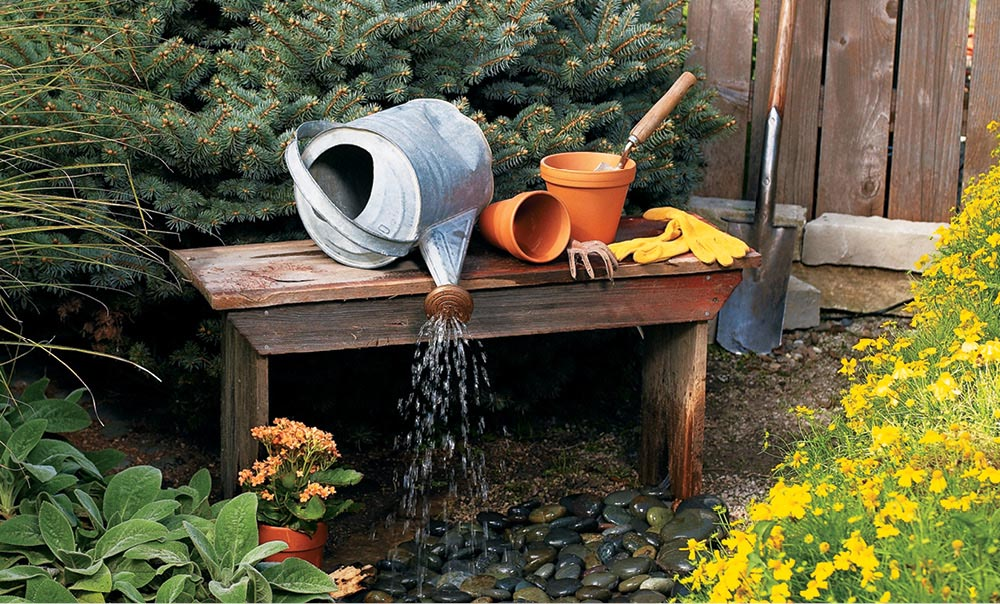 do it yourself backyard water fountains backyard design