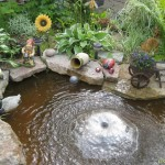 Garden Fountain and Ponds