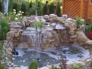 Garden Fountains and Ponds