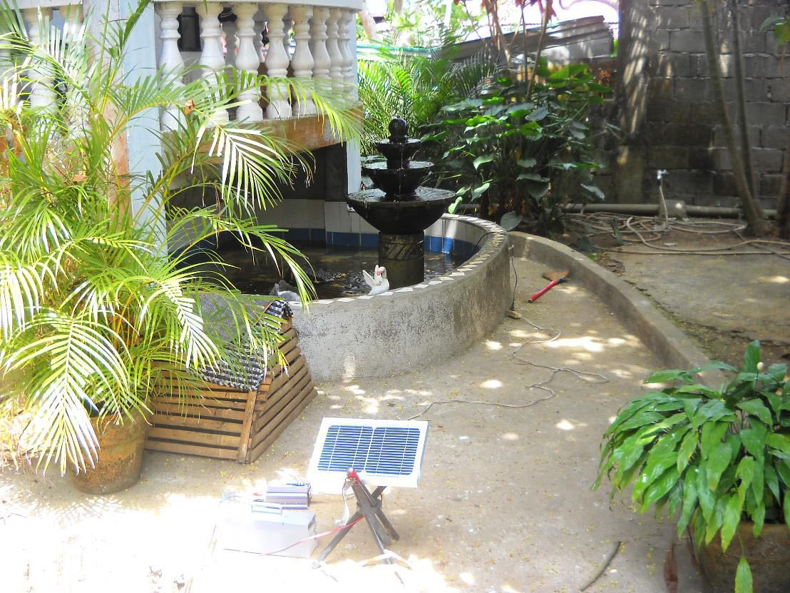 Garden Pond Solar Fountains