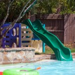 Home Built Pool Slide
