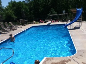 Home Swimming Pool Slides