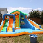 Inflatable Backyard Pool Slide