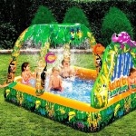 Inflatable Backyard Water Slide and Pool