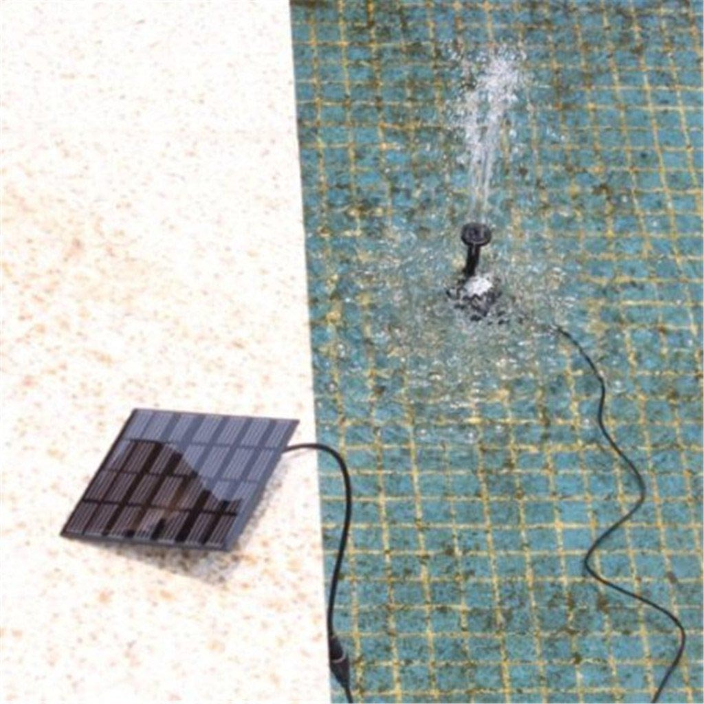 Instapark 5 Head Solar Pump Garden Fountain Pond Water Feature